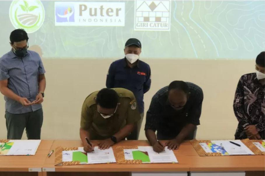 Read more about the article Balai TNGHS dan Kelompok Tani Hutan Lakukan Kemitraan Konservasi